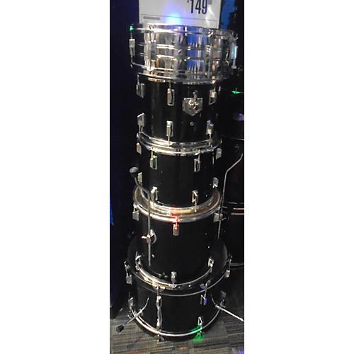 In Store Used Used Turbo 5 piece Sunlight Black Drum Kit