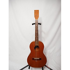 Pre-owned Pre-owned UKELELE BARITONE Worn Natural Acoustic Guitar
