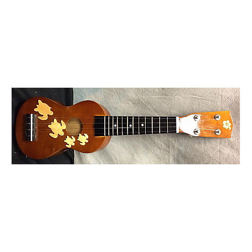 In Store Used Used UKULELE SOPRANO Brown Acoustic Guitar-thumbnail