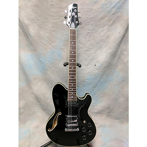 In Store Used Used USED TALLAMN TM71 Black Hollow Body Electric Guitar