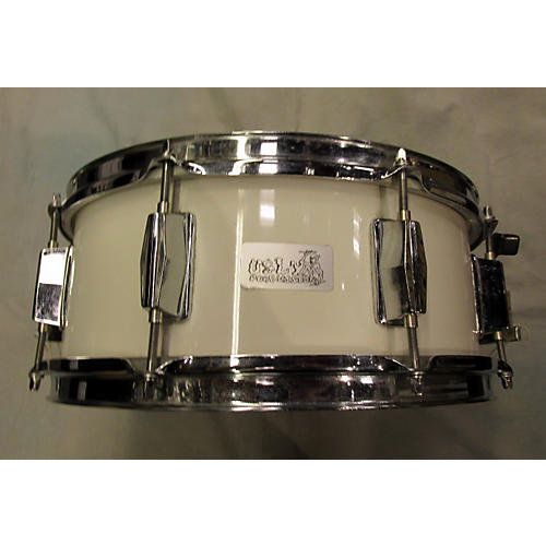 In Store Used Used Ugly 5X13 Snare White Drum-thumbnail