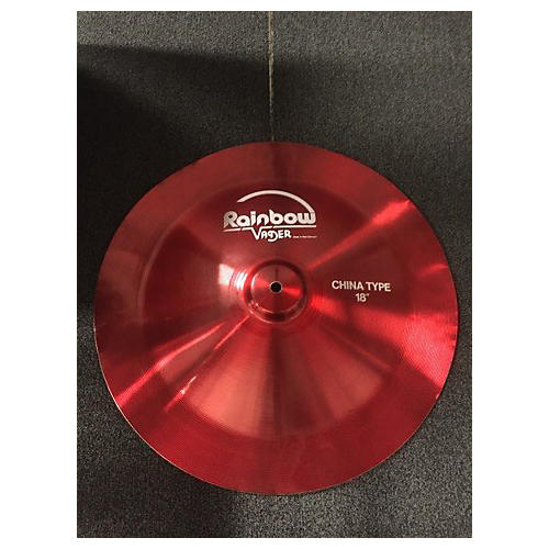 In Store Used Used VADER 18in RAIBOW Cymbal-thumbnail