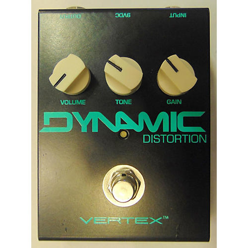 In Store Used Used VERTEX DYNAMIC DISTORTION Effect Pedal