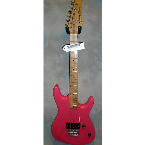 In Store Used Used VIPER CE93 Pink Solid Body Electric Guitar-thumbnail