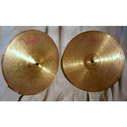 In Store Used Used Vader 14in HiHat Pair Cymbal