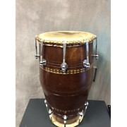 Used Vharkar Sheesham Wood Dholak Hand Drum