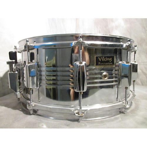 In Store Used Used Viking 5.5X14 Snare Steel Drum