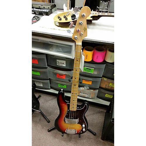 In Store Used Used Vintage Crown 1970s Lawsuit J Bass Mij 3 Color Sunburst Electric Bass Guitar-thumbnail