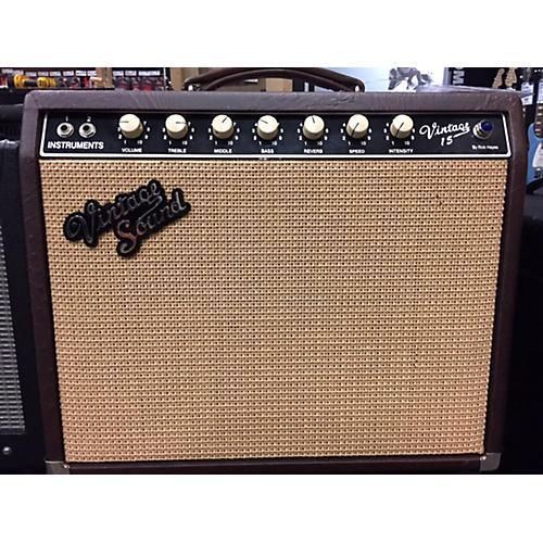 used vintage sound vintage 15 tube guitar combo amp guitar center. Black Bedroom Furniture Sets. Home Design Ideas