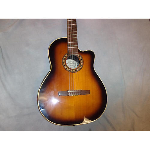 In Store Used Used Vogel Guitars 2010 CFSP 2 Color Sunburst Classical Acoustic Electric Guitar