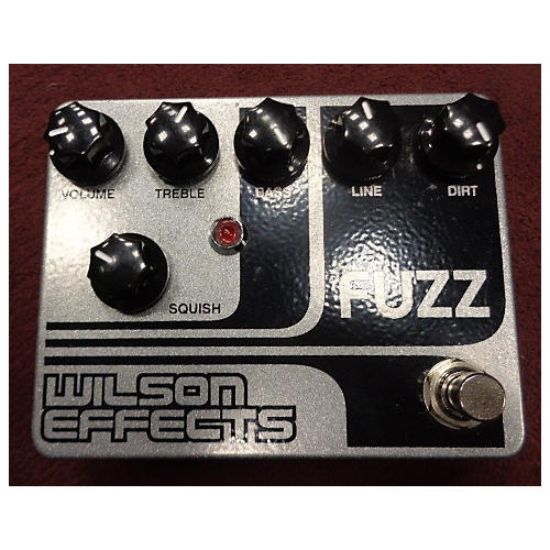 In Store Used Used WILSON EFFECTS 2015 FUZZ Effect Pedal