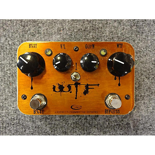 In Store Used Used WTF Rocket Pedal Effect Pedal