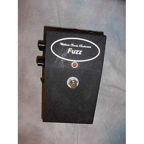 In Store Used Used Wattson Classic Electronics Fuzz Effect Pedal-thumbnail