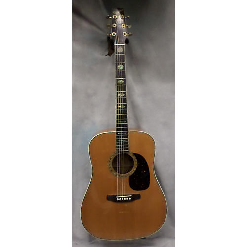 In Store Used Used Westbury Dreadnought Natural Acoustic Guitar-thumbnail