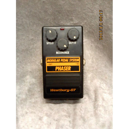 In Store Used Used Westbury W-07 Phaser Effect Pedal-thumbnail