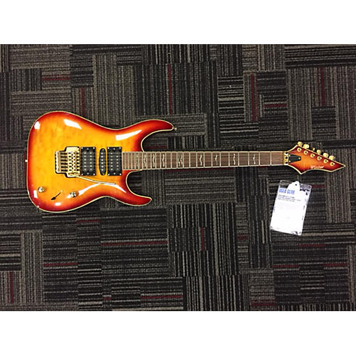 In Store Used Used Winter 6 String Electric Orange Burst Solid Body Electric Guitar