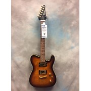 Used Winter Single Cut Away 2 Tone Sunburst Solid Body Electric Guitar