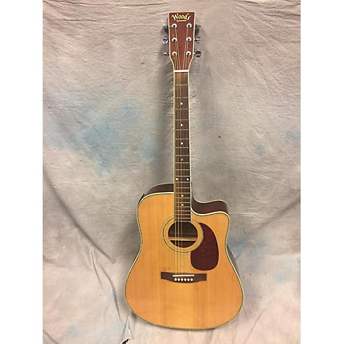In Store Used Used Woods Instruments Md-08192-YK Natural Acoustic Electric Guitar