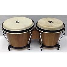 Used World Beat Percussion 8X7 Bongos Drum Natural