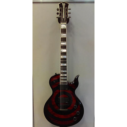 In Store Used Used Wyled Audio ODIN RED RUM RED RUM BURST Solid Body Electric Guitar-thumbnail