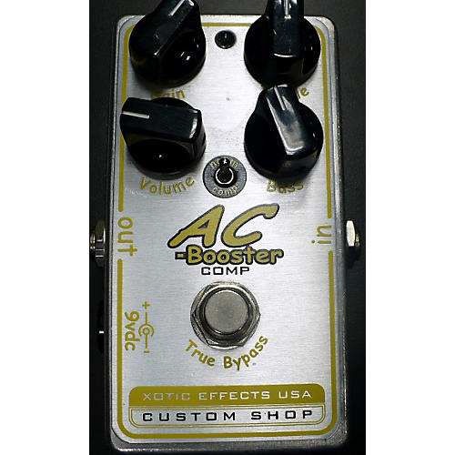 In Store Used Used XOTIC EFFECTS AC-BOOSTER COMP Effect Pedal-thumbnail