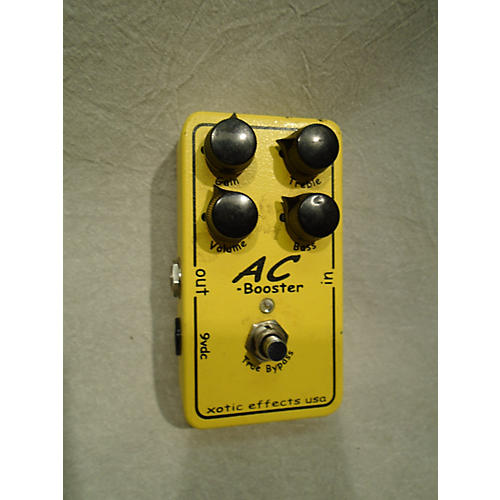 In Store Used Used XOTIC EFFECTS AC BOOSTER Effect Pedal