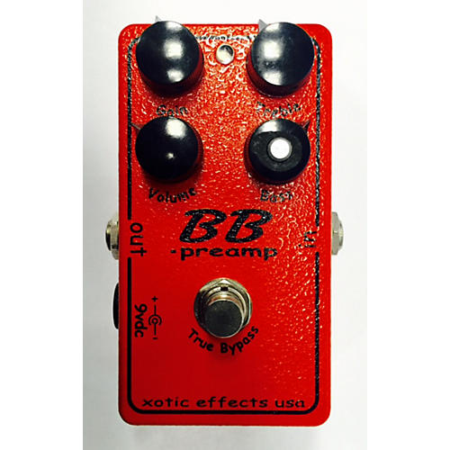 In Store Used Used XOTIC EFFECTS BB PREAMP Pedal-thumbnail