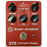 Used XTS Custom Pedals Atomic Overdrive Effect Pedal