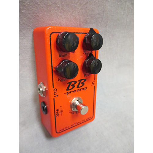 In Store Used Used Xotic Effects Bb Preamp Effect Pedal