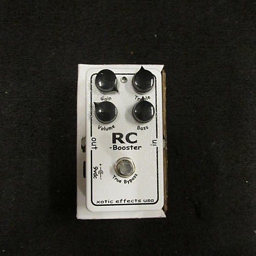 In Store Used Used Xotic Effects RC Booster Effect Pedal