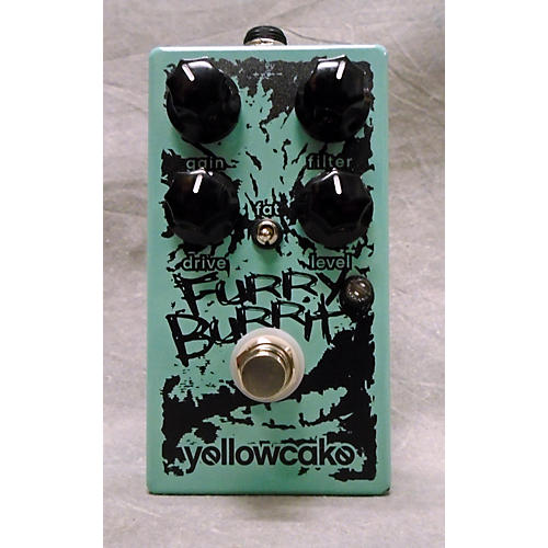 In Store Used Used Yellowcake Furry Burrito Effect Pedal