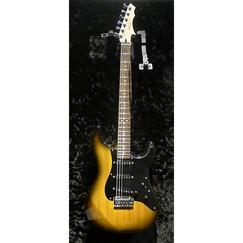 In Store Used Used ZANE PC CLASSIC Butterscotch Solid Body Electric Guitar-thumbnail