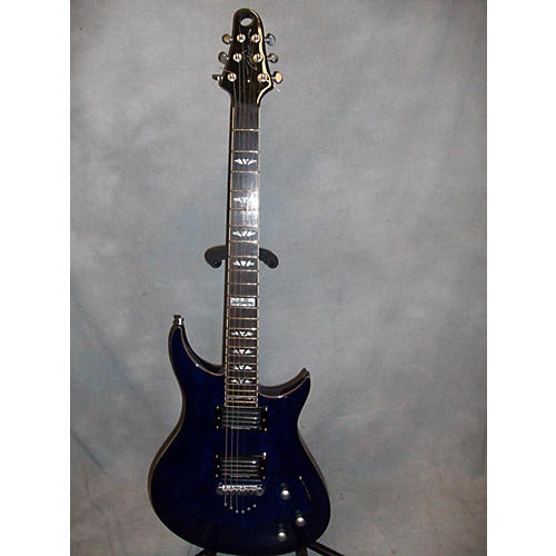 In Store Used Used ZEBERUS MORPHEUS II Blue Solid Body Electric Guitar-thumbnail