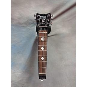 used zakk wylde shredneck practice black acoustic guitar guitar center. Black Bedroom Furniture Sets. Home Design Ideas