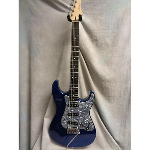 In Store Used Used Zane Guitars Pc Classic Blue Solid Body Electric Guitar-thumbnail