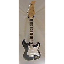 Used Zeny Strat Blue Black Fade Electric Guitar Pack