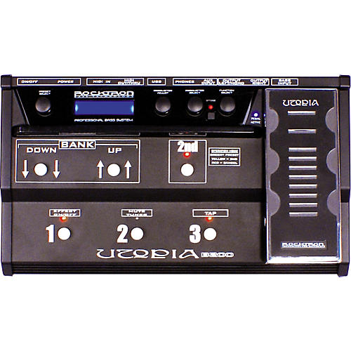 Rocktron Utopia B200 Bass Floor Multi Effects Pedal