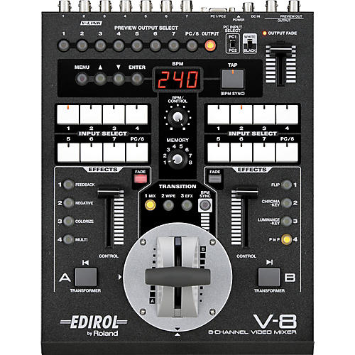 Roland V-8 8-Channel Video Mixer with Effects-thumbnail