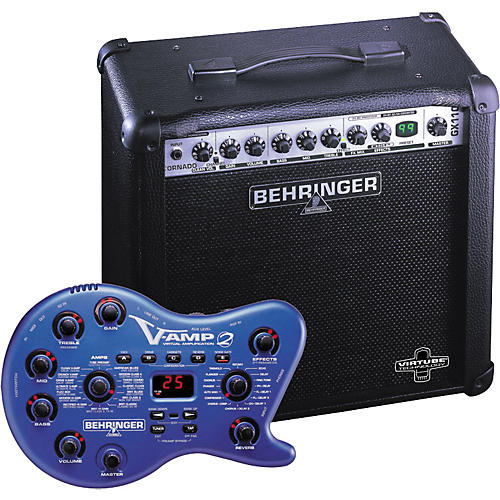 behringer v amp 2 gx110 ultrarock 30w 1x10 combo guitar center. Black Bedroom Furniture Sets. Home Design Ideas