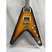 V Chicago Flame Solid Body Electric Guitar