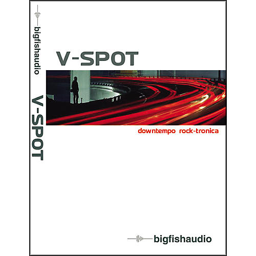 Big Fish V-Spot Sample Library DVD