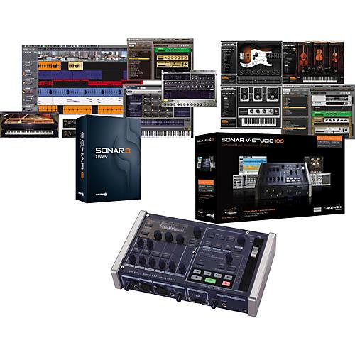 Cakewalk V-Studio 100 and Sonar 8.5 Studio Bundle