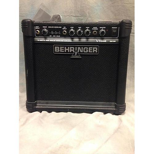 Behringer V-Tone GM108 15W Guitar Combo Amp-thumbnail