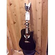 Dean V Wing Cutaway Dreadnought Acoustic Electric Guitar