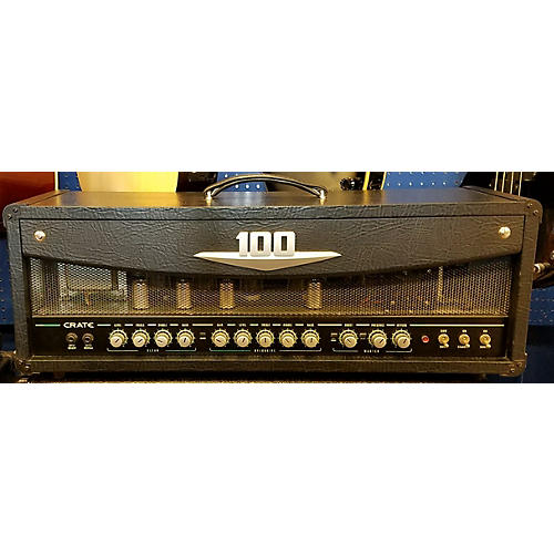 Crate V100 100W Tube Guitar Amp Head-thumbnail