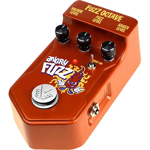Visual Sound V2 Series V2AF Angry Fuzz Octave Guitar Effects Pedal