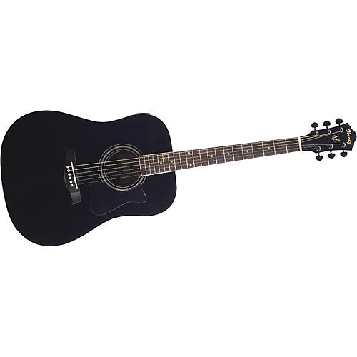 Ibanez V200S Solid Top Acoustic Guitar Black