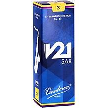 Vandoren V21 Tenor Saxophone Reeds, Box of 5