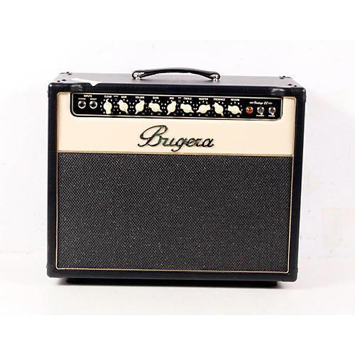 Bugera V22 22W 1x12 Tube Guitar Combo Amp Black 888365043807