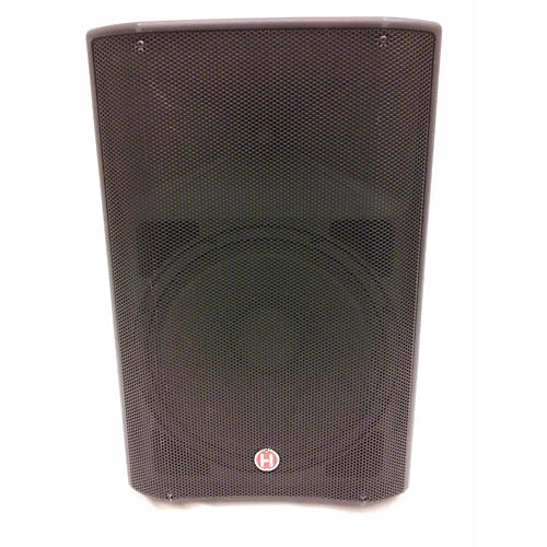 used harbinger v2215 powered speaker guitar center. Black Bedroom Furniture Sets. Home Design Ideas